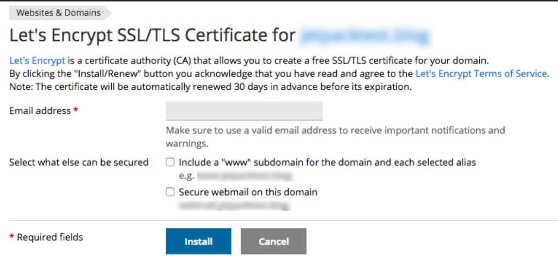 How Do I Activate Ssl Certificate For My Wordpress Domains
