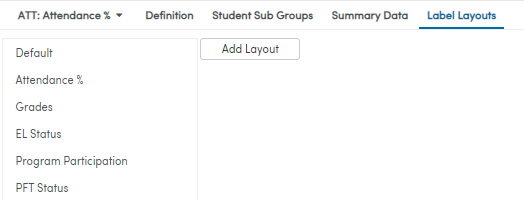 Label Layout screenshot