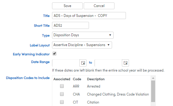 Copy an Indicator Edit screenshot