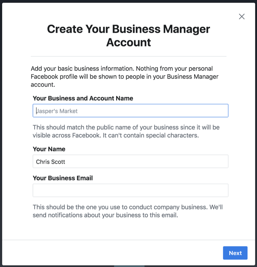 How to Use Facebook Business Manager : The Paperless Agent