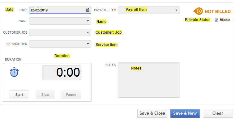 How to Import TimeSheet Entries into QuickBooks Desktop