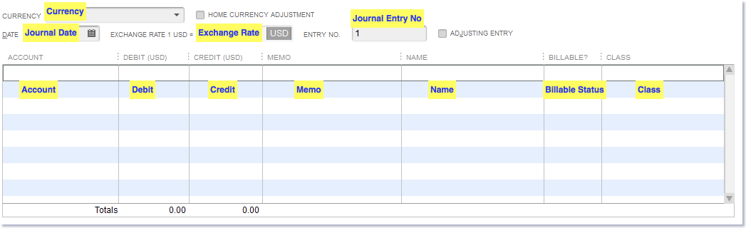 Import Journal Entries into QuickBooks Desktop