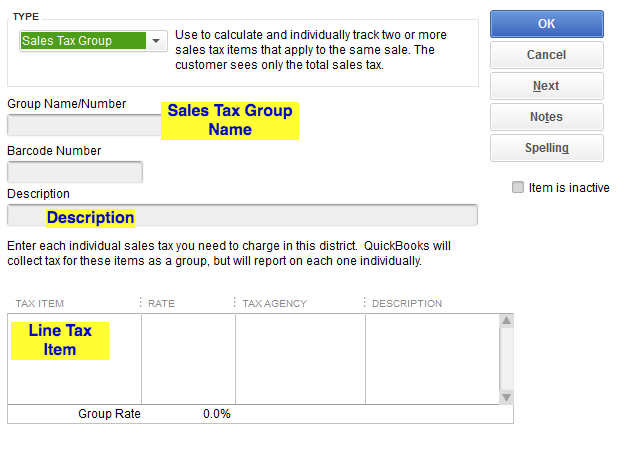 How to Import Sales Tax Group Items into QuickBooks Desktop
