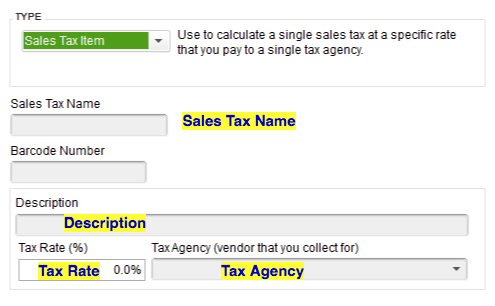 Import Sales Tax Items into QuickBooks Desktop