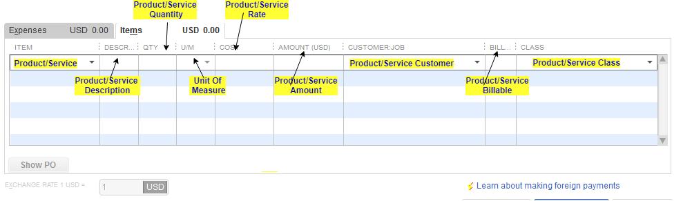 Import Bills into QuickBooks Desktop