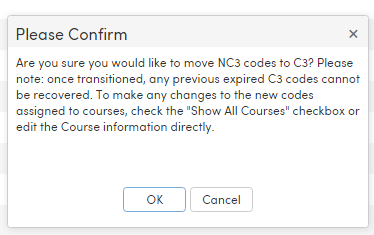 State Course Code Transition : Aeries Software