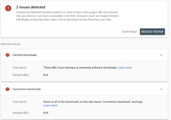 RESOLVED] Announcement - Google Search Console alert on Smartermail