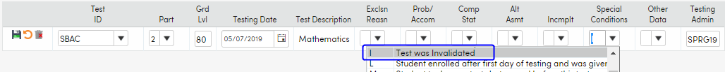 Import Test Results - Testing Exclusions example