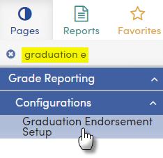 Graduation Endorsements Navigation - Texas