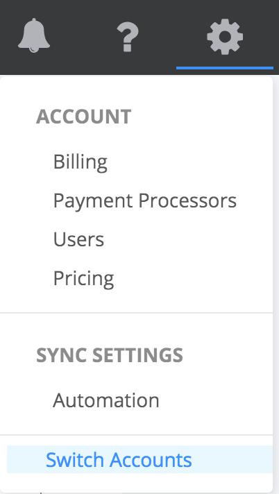 paytraqer switch quickbooks company