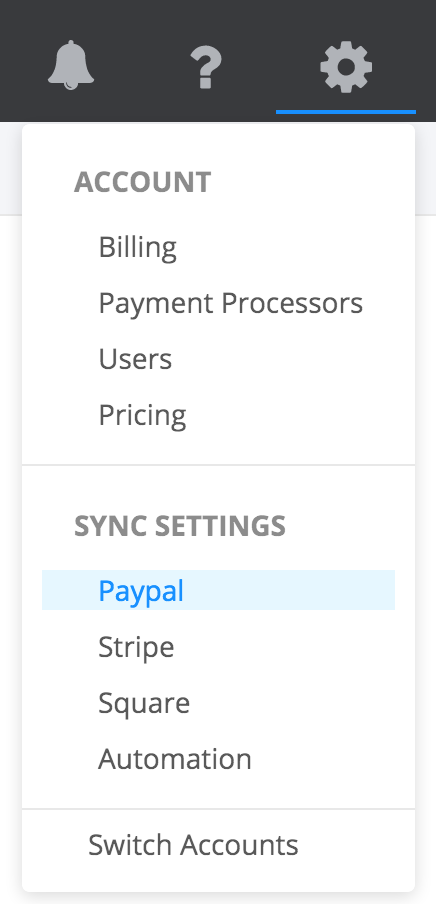 Advanced Settings in PayTraQer