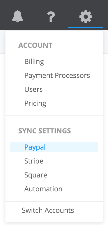 PayTraQer - Products & Services Settings