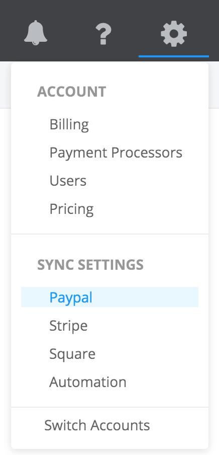 PayTraQer Settings