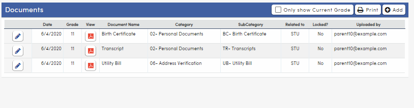 Pending documents area hidden after all documents approved