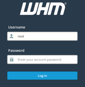 Screenshot 2019 06 19 WHM Login1 My CMS
