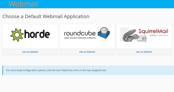 Webmail Application