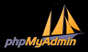 phpmyadmin logo My CMS