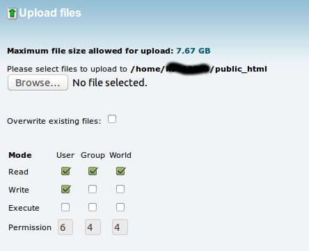 Cpanel upload3 My CMS