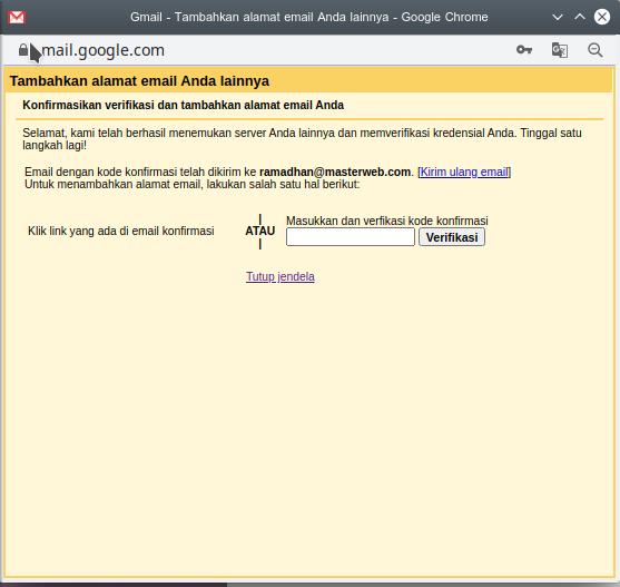 Temukan Cara Menghubungkan Email Domain Ke Gmail mudah