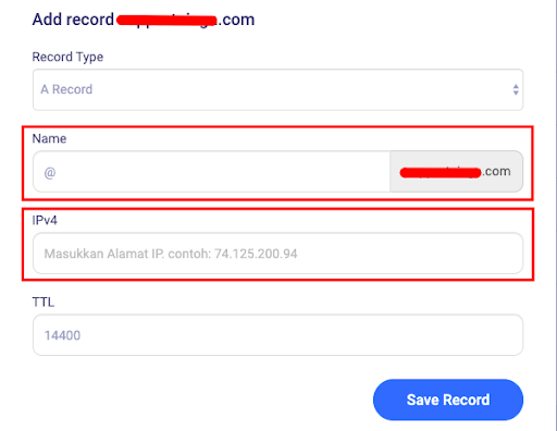 Save record 2