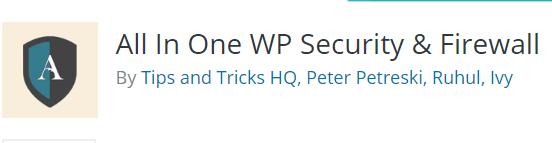 plugin security wordpress terbaik all in one