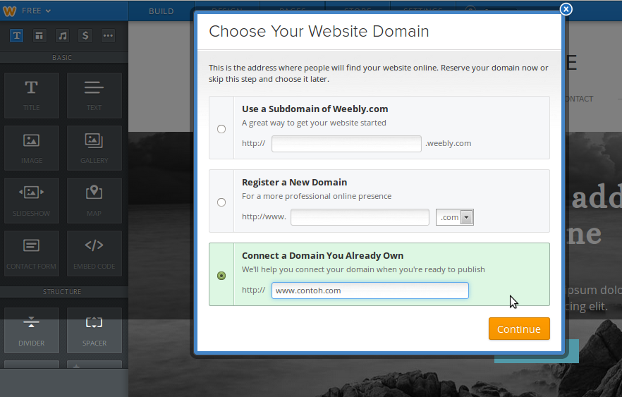 Weebly5 My CMS