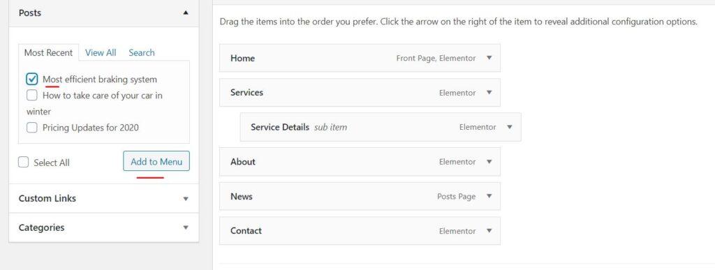 Cara Menambah Menu di Web1menit