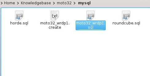 Cpanel restore04 My CMS
