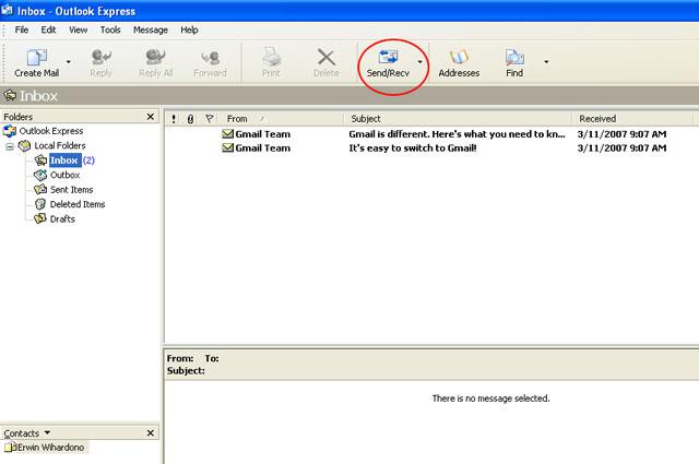 Outlook 09 My CMS