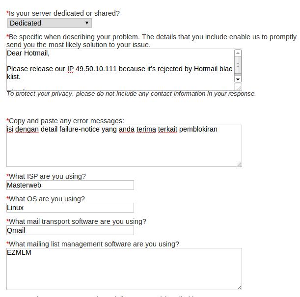 Whitelist hotmail02 My CMS