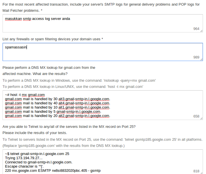 Whitelist gmail02 My CMS