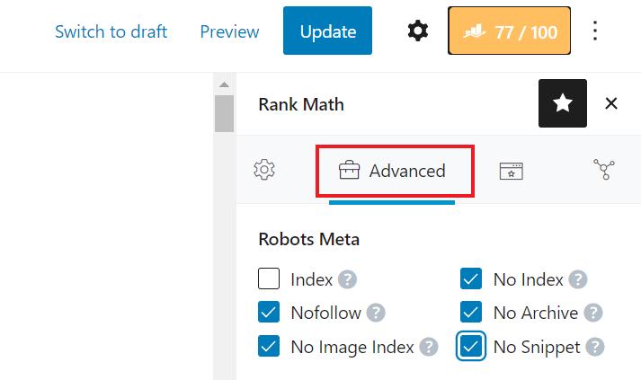 Edit Non Index