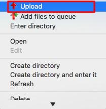 WordPress plugins Upload