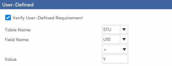 Mass Update Graduation Status - Setup and Load Students tab - User-Defined - TX