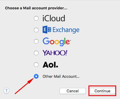 memilih mac mail