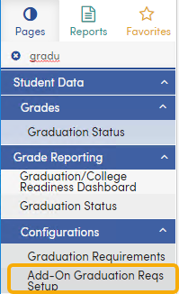 Graduation Endorsements Navigation - California