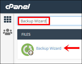 1 Ketik pencarian   Klik Backup Wizard (Edit)