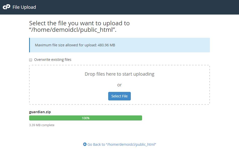 Cara Upload File Website ke Hosting di cPanel 7