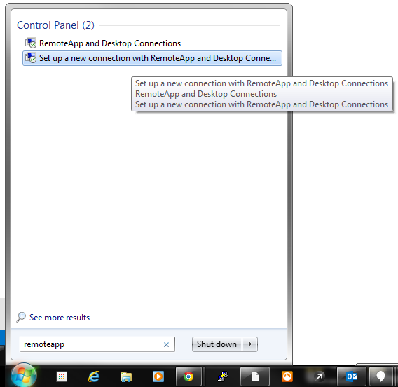 Connecting Windows 7 PC to Brahma's Hosted Sage 300 : Helpdesk