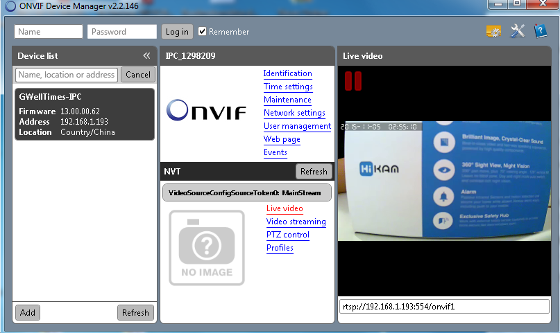 Windows Onvif Server