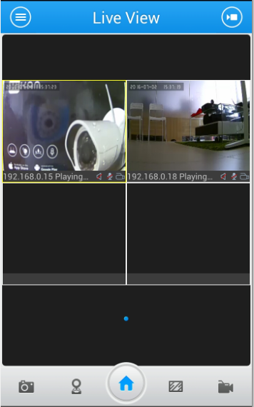 How to watch live streams with ONVIF clients(For A7 2016
