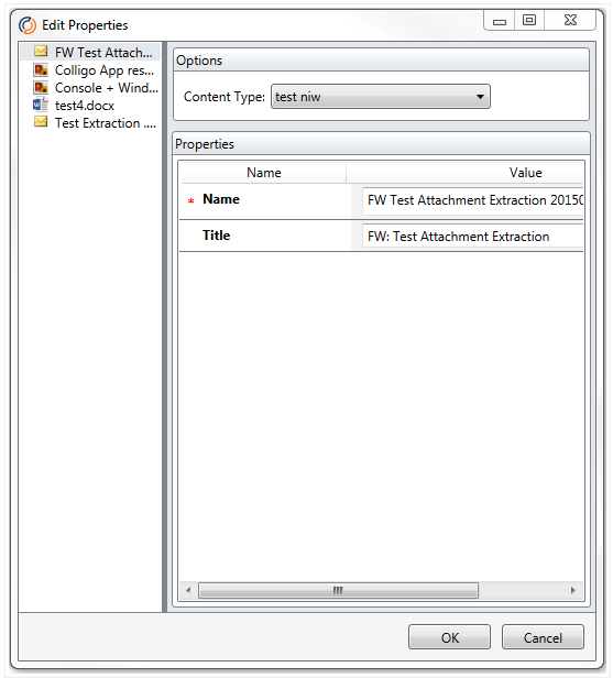 How does attachment extraction work in Email Manager for Outlook