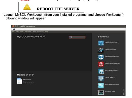 Online Version on Ubuntu for MySQL : SOLUTION CENTER - Support