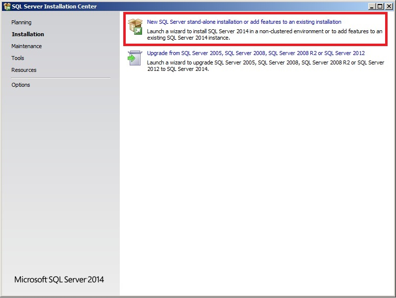 Installing and Configuring the Microsoft SQL Express 2014