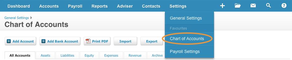Xero_chart_of_accounts