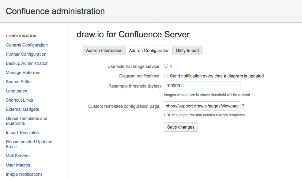 How to Define Custom Templates for draw.io in Confluence Server ...