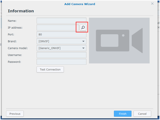 How to watch live streams with ONVIF clients(For S6, A7 2018 Version