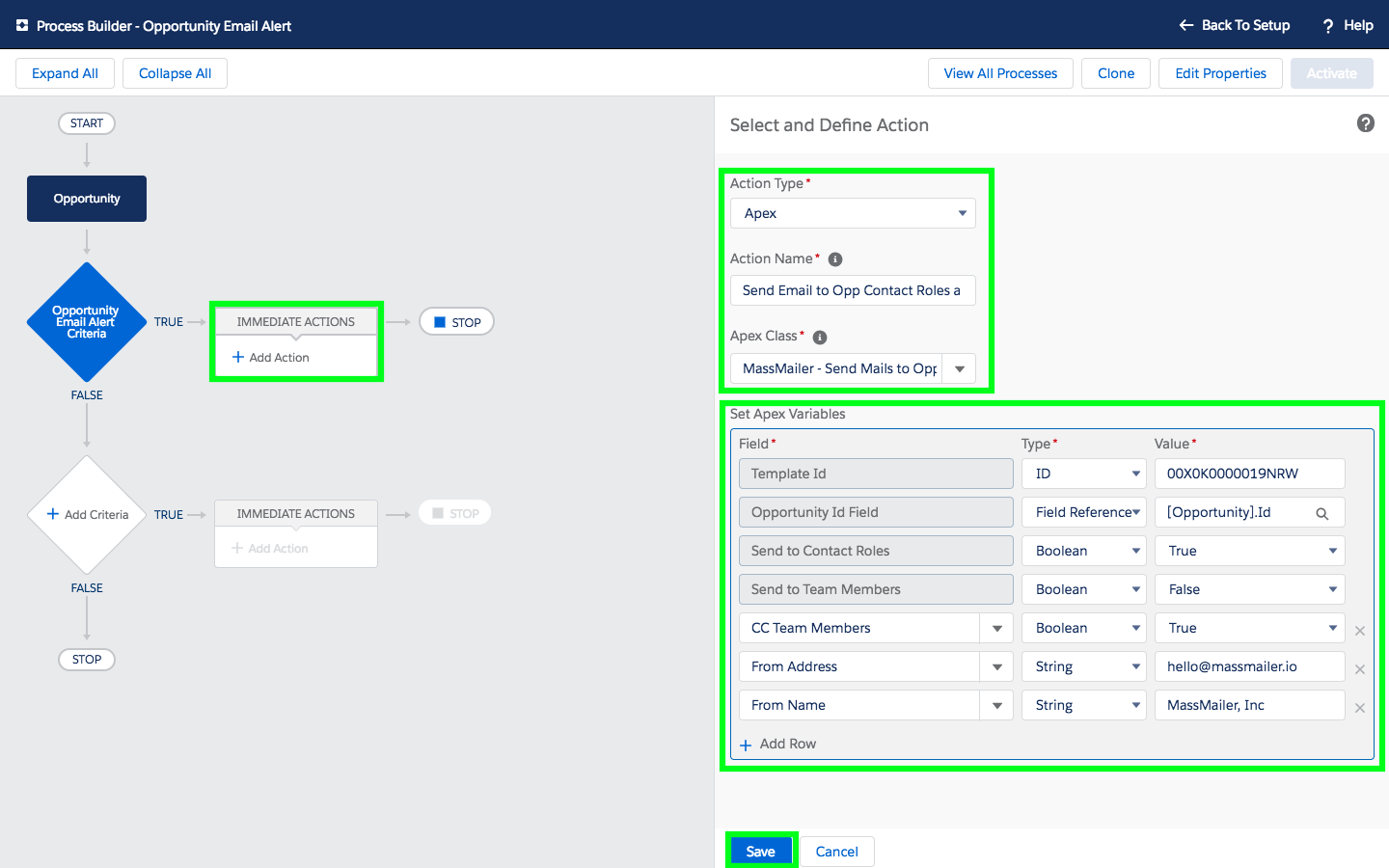Send Email Alerts To Salesforce Opportunity Contact Roles And Team