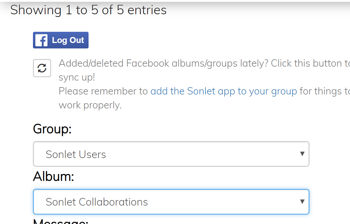 How do I Post my Items to Facebook? (Video) : Sonlet Support