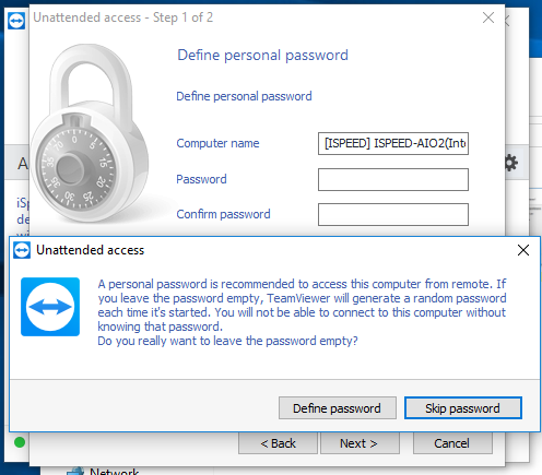Teamviewer Host for iSpeed Maintenance Customers Computers